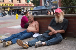 homeless in morgantown